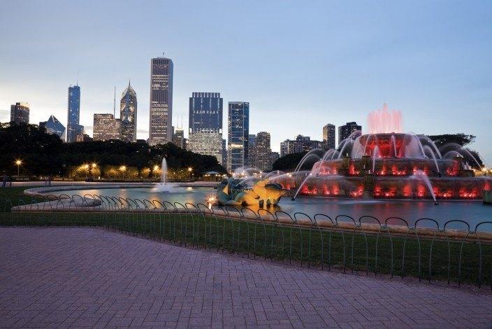 Buckingham Brunnen Chicago