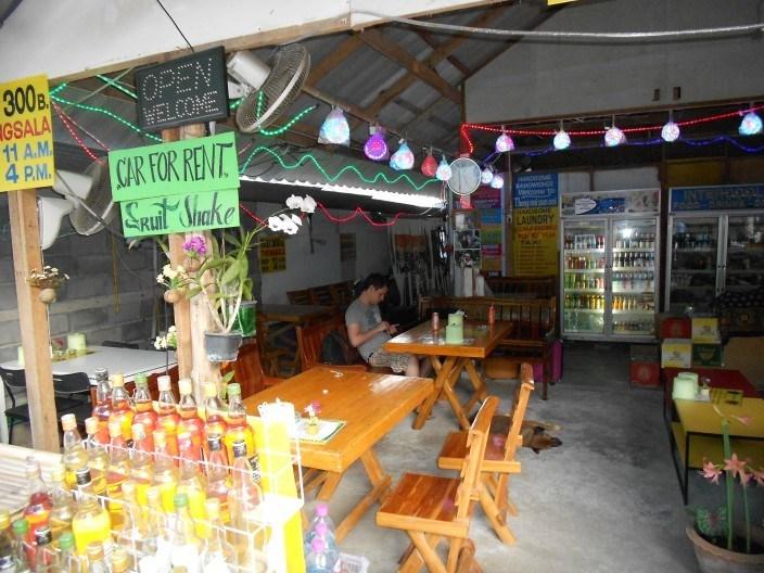 Koh Phangan Burger, Taxi, Laundry, Gasoline