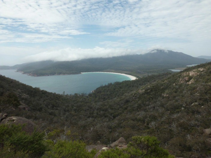 Wineglass Bay Aussichtsplattform
