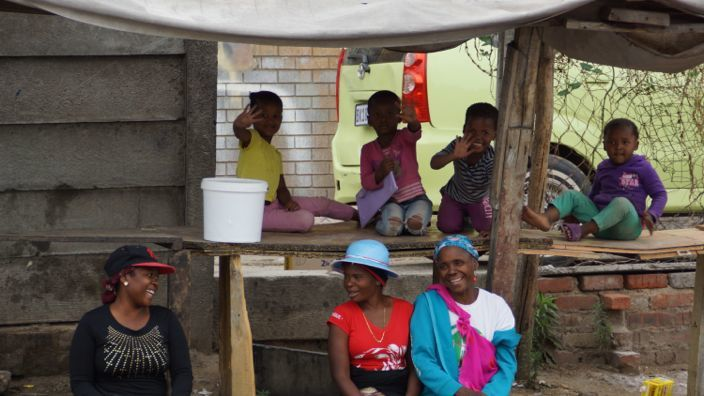 Alexandra Township People