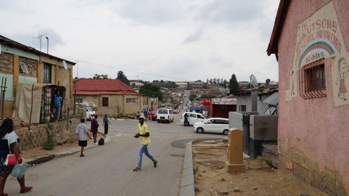 Alexandra Township Johannesburg