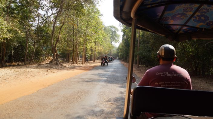 Across Angkor by Tuk Tuk
