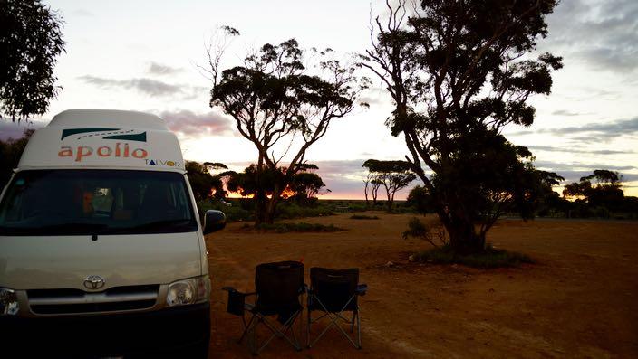 Australia Road Trip camping wild