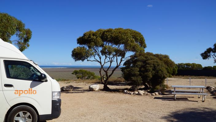 South Australia Eucla Camping