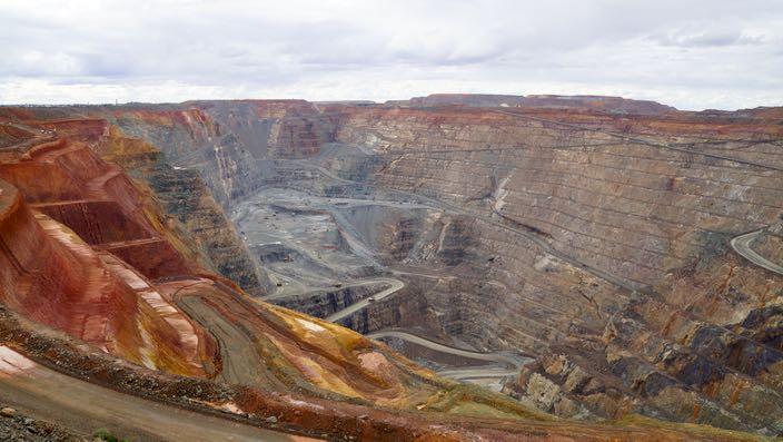 Kalgoorlie Superpit Goldmine Australia