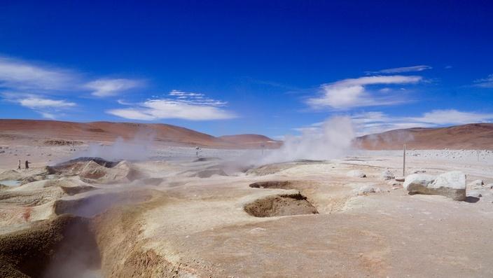 Bolivien Geysier Sol de Mañana