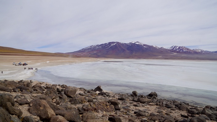 Bolivien Laguna Blanca