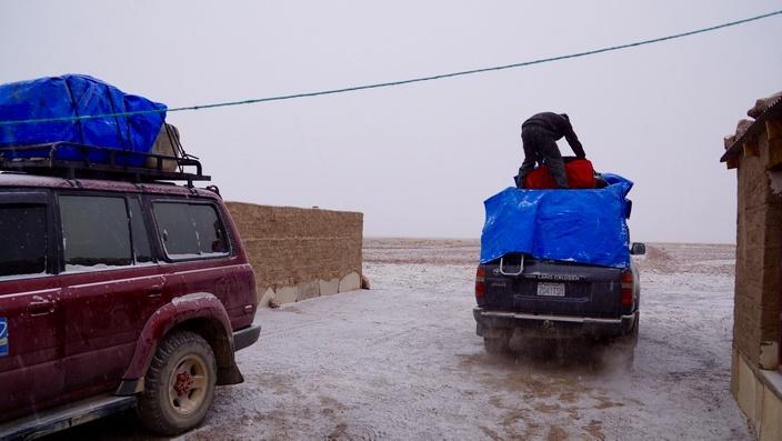 Bolivien Schnee