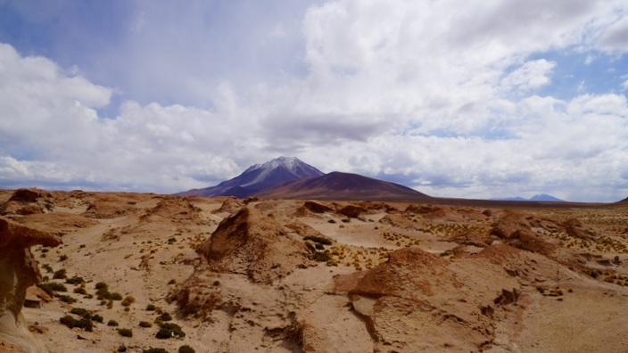 Bolivien Vulkan Ollagüe