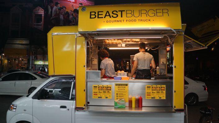 Chiang Mai Beast Burger Food-Truck