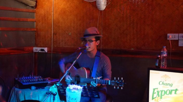 Chiang Mai Bamboo Bar Live Music