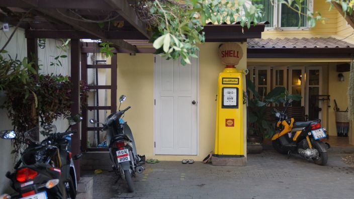 Chiang Mai Petrol Station Shell