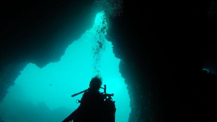 Scubadiving Koh Lanta cave