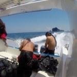 Scubadiving Koh Lanta speed boat
