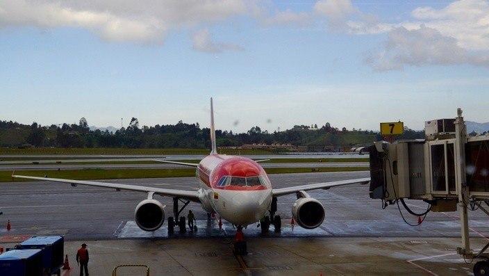 Avianca Flugzeug