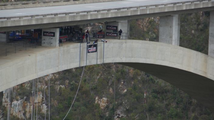 South Africa Bungee Bridge