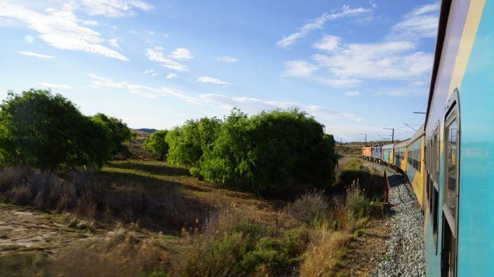 South Africa Shosholoza Meyl Train
