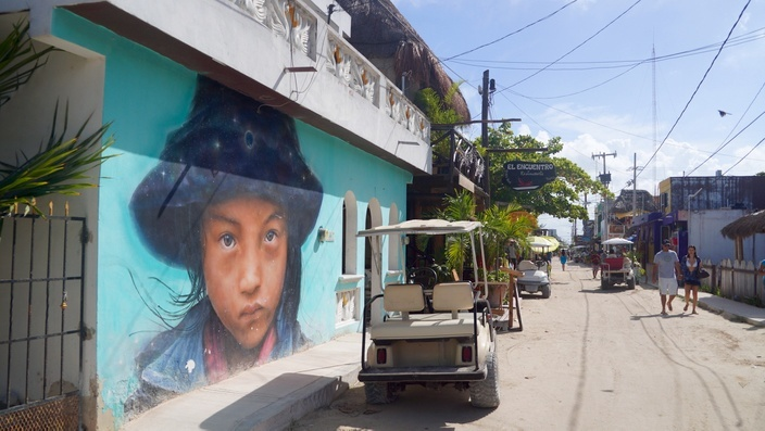 Isla Holbox, Street Art