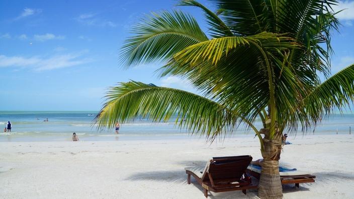 Strand auf Isla Holbox