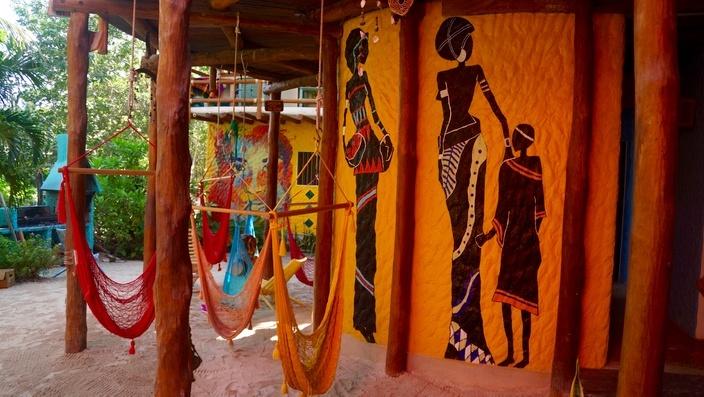 Tribu Hostel, Isla Holbox