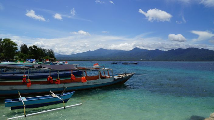 Gili Air Harbour