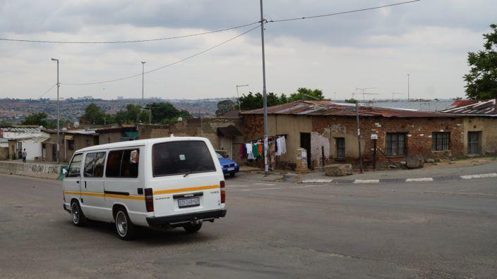 Südafrika Minibus-Taxi