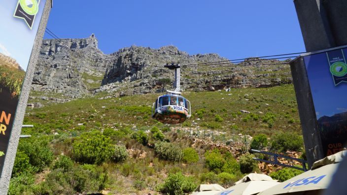 Cape Town Table Mountain Cablecar
