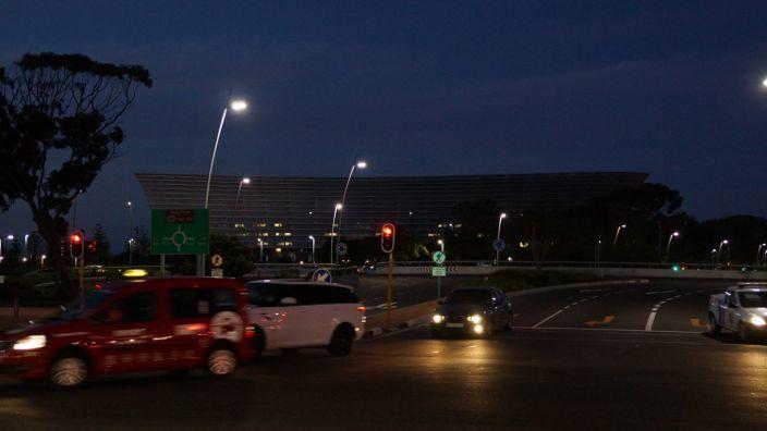 Cape Town Stadium Night