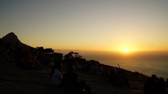 Cape Town Sunset Signal Hill