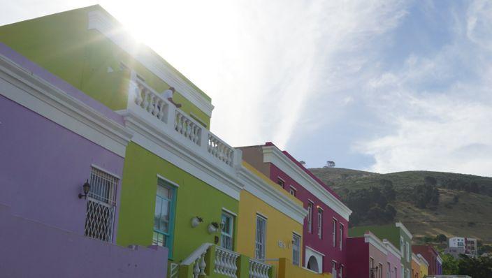 Kapstadt Bo-Kaap Sun