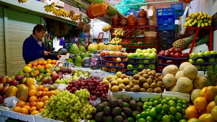 Bogotá Mercado Palo Quemao