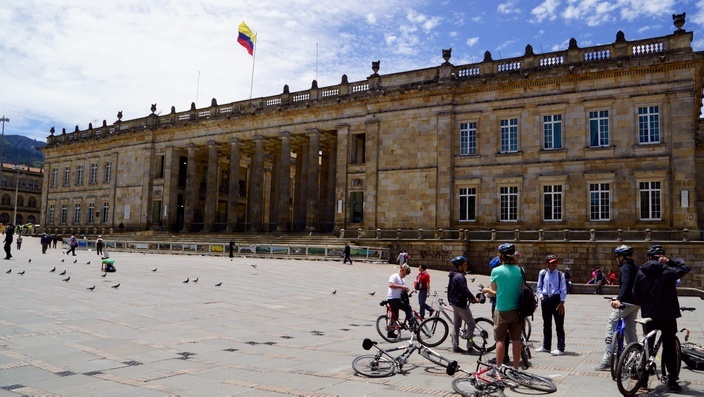 Bogotá, Plaza Bolívar