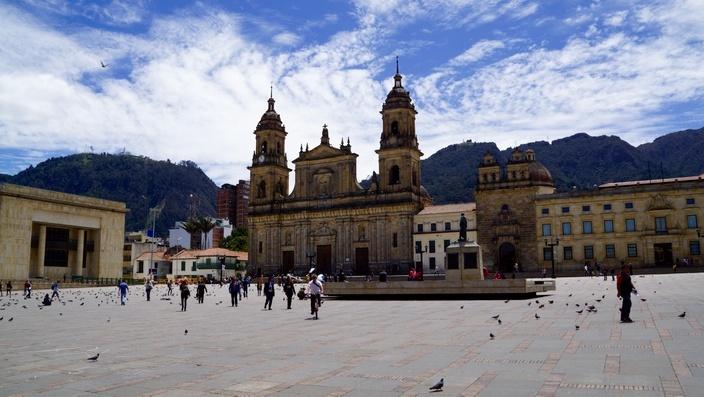 Bogotá, Plaza Bolívar Kathedrale
