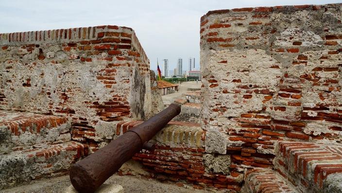 Cartagena Castillo San Felipe, Kolumbien