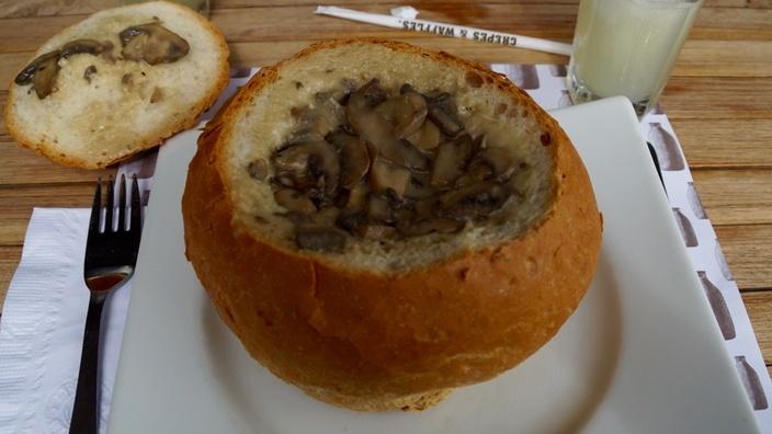 Panne Cook bei Crepes & Waffles, Kolumbien