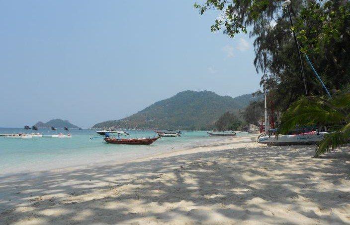 Koh Tao Thailand beach