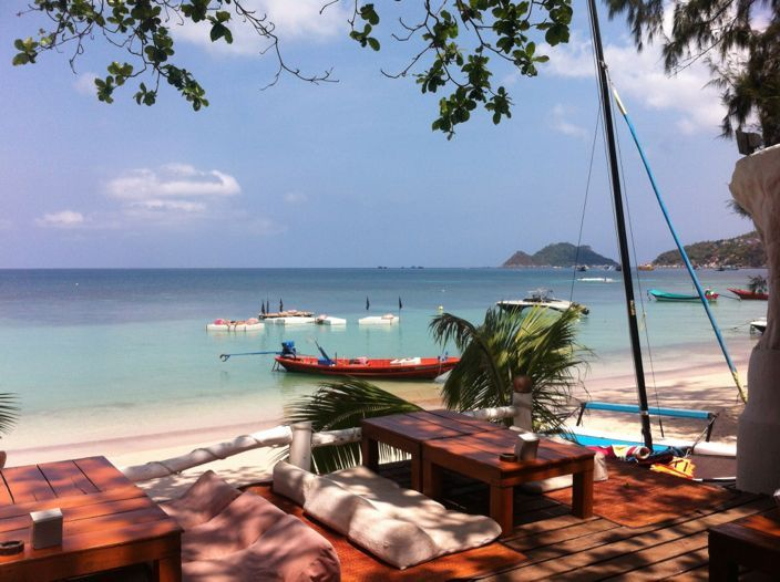 Koh Tao Thailand view