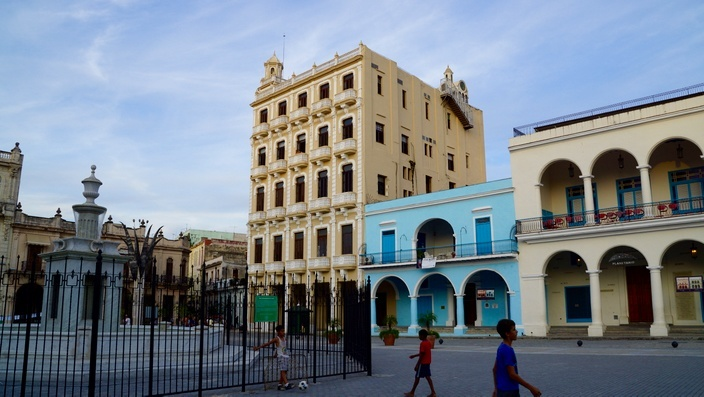 Plaza Vieja, Havanna Kuba