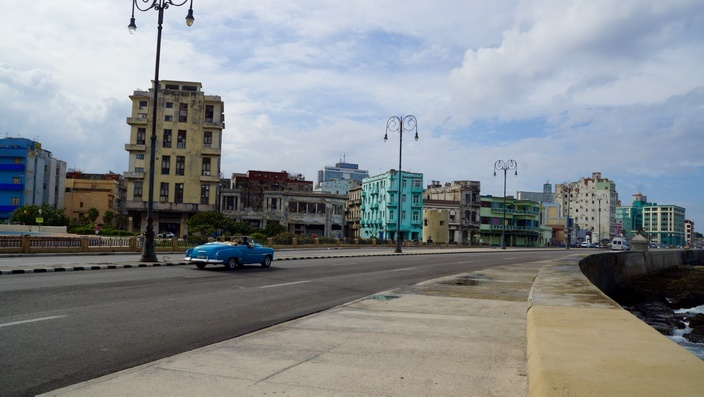 Malecon in Havanna, Kuba