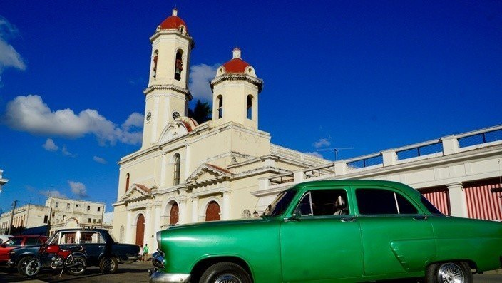 Kirche in Cienfuegos, Kuba