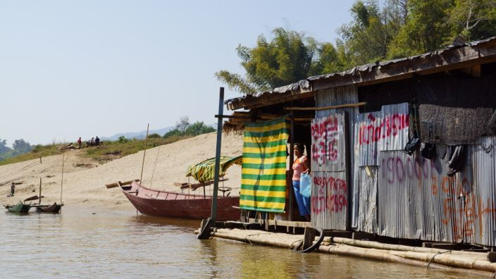 Laos Mekong Home