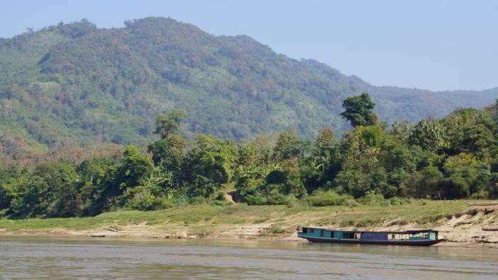 Laos Mekong Slowboat