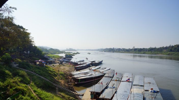 Huay Xai View of Mekong