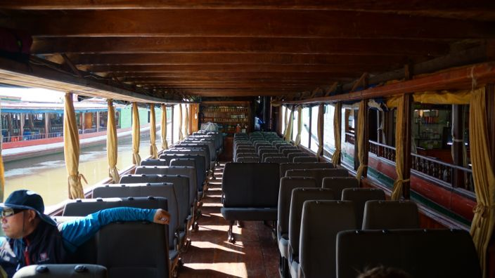 Slowboat Huay Xai to Luang Prabang