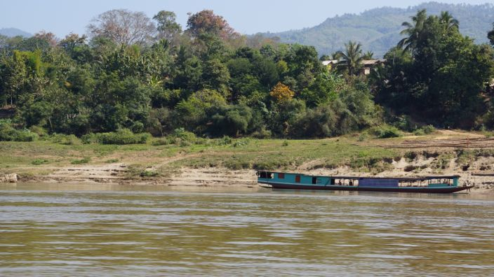 Mekong Laos Slowboat