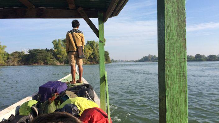 Laos to Cambodia Don Det