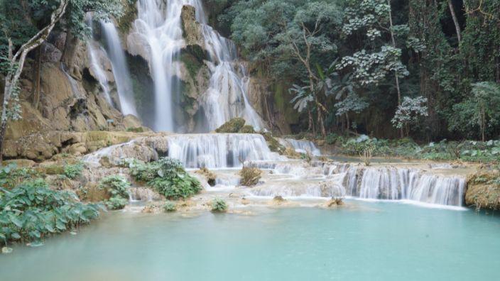 Kuangsi Waterfall Luang Prabang