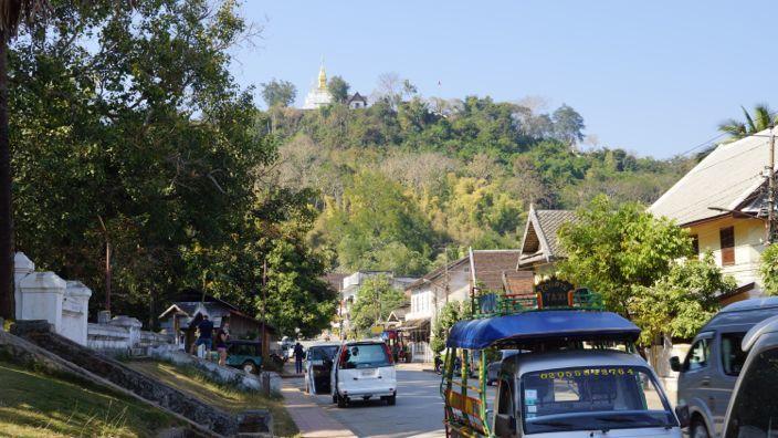 Mount Phousi Luang Prabang