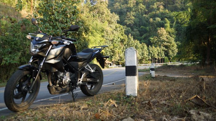 Mae Hong Son Loop Thailand Honda CB300