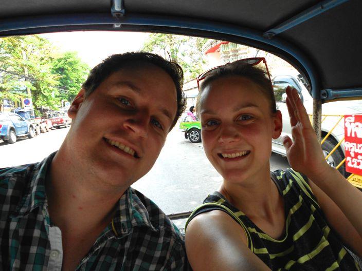 Mona und Patrick in Bangkok
